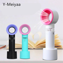 USB Handheld Bladeless Fan Air Conditioning Blower Glue Grafted Eyelashes Dedicated Dryer For Eyelash Extension Dropshipping 20#