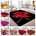Kreative 3D Garten Blume Teppiche für Wohnzimmer Schlafzimmer Bereich Teppich Moderne Blumen Drucken Flur Teppich Kind Spielen Zelt Boden matte-in Teppich aus Heim und Garten bei