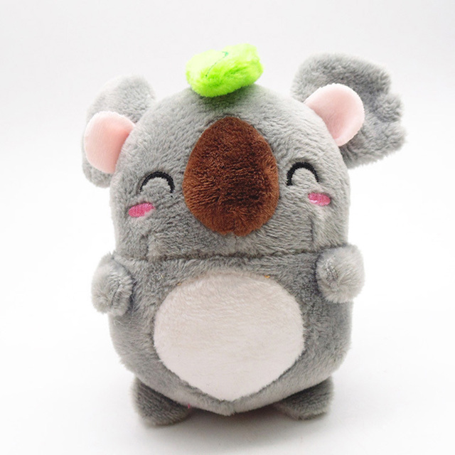 Mini Cute Koala Round Dinosaur Action Figure Cartoon Animal Model Figure Toy Collection Doll Toy Gift for Fgurines Home Decor