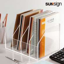 Organizer Paper-Storage Documents Filer-Holder Office-Supplies Acrylic Clear Modern A4/A5