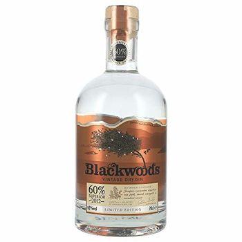 Blackwoods Vintage Dry Gin 2012 0,7 Liter 60% Vol.