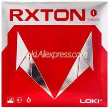 Loki rxton 1 tênis de mesa de borracha semi-pegajoso ataque rápido original wang hao loki ping pong esponja