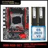 X99 motherboard LGA 2011-3 set kit with Intel xeon E5 2620 V3 processor DDR4 16GB(2*8GB) 2666mhz RAM memory M-ATX X99-RS9