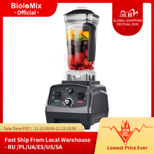 3HP 2200W robuste qualité commerciale automatique minuterie mélangeur mélangeur presse agrumes fruits robot culinaire glace Smoothies BPA gratuit 2L pot