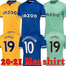 2020 camisa masculina camisa de futbol camisa 20 21 james camisas