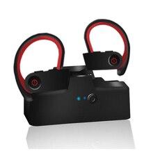 TWS-6 Wireless Bluetooth Ear Hook Earphone In-ear Sports Headphones Earbuds For Iphone Samsung Earphones