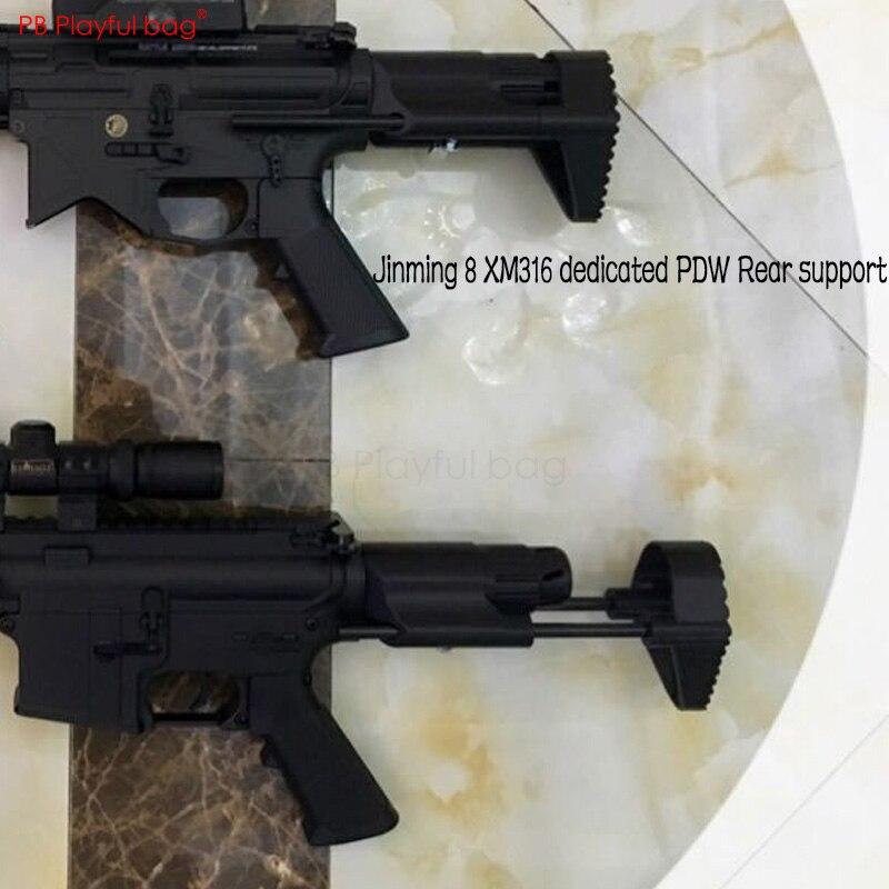 Playful Bag Jinming M4A1 / 8 /XM316 Refitting 416C Special PDW Brace Gen 8 Modified Accessories KD78