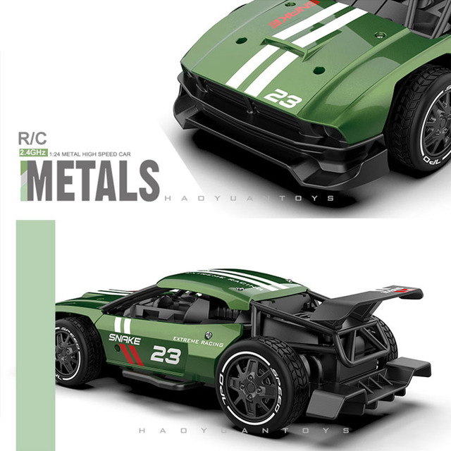 High Speed RC Metal Car 1/20 4WD RC Drift Racing Car Off Road Radio Remote Control Vehicle Electronic Toys Boy Birthday Present 2