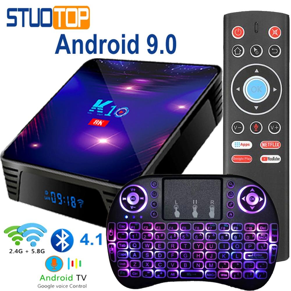 STUOTOP Media-Player Set-Top-Box Youtube 8k Android Amlogic S905x3 K10 4GB 32GB 64GB