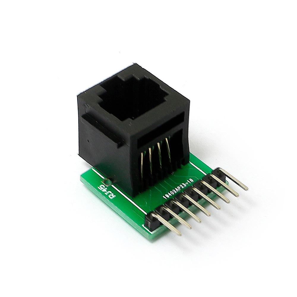 RJ45 8pin Connector And Breakout Board Kits