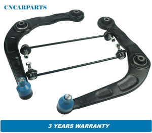 Front Lower Suspension Wishbone Control Arms Links Fit for Peugeot 206 1998-2018