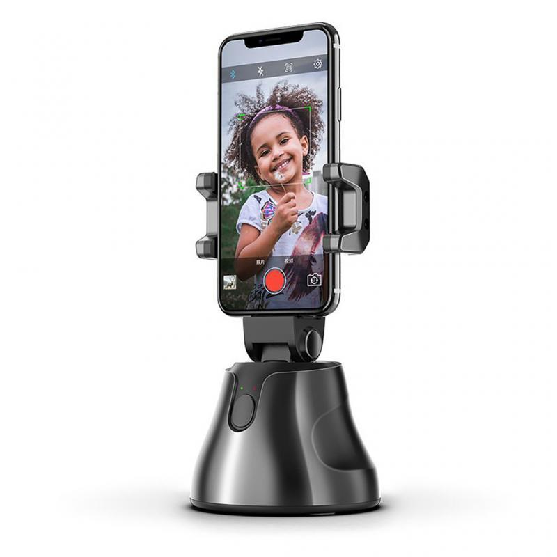New Smartphone Gimbal 360° Face Photo Follow Up Phone For Vlog Live Video Record Smart Gimbal Face Tracking Photo Accessories