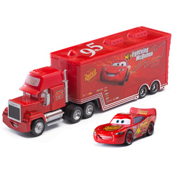Cars 2 3 Disney Pixar No. 95 Lightning McQueen Jackson Storm Truck Mater Ramirez 1:55 Diecast Metal Alloy Toys For Children gift