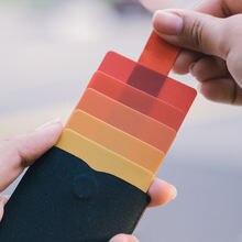 Новинка 2020 тонкий портативный мини кошелек для карт dax v2