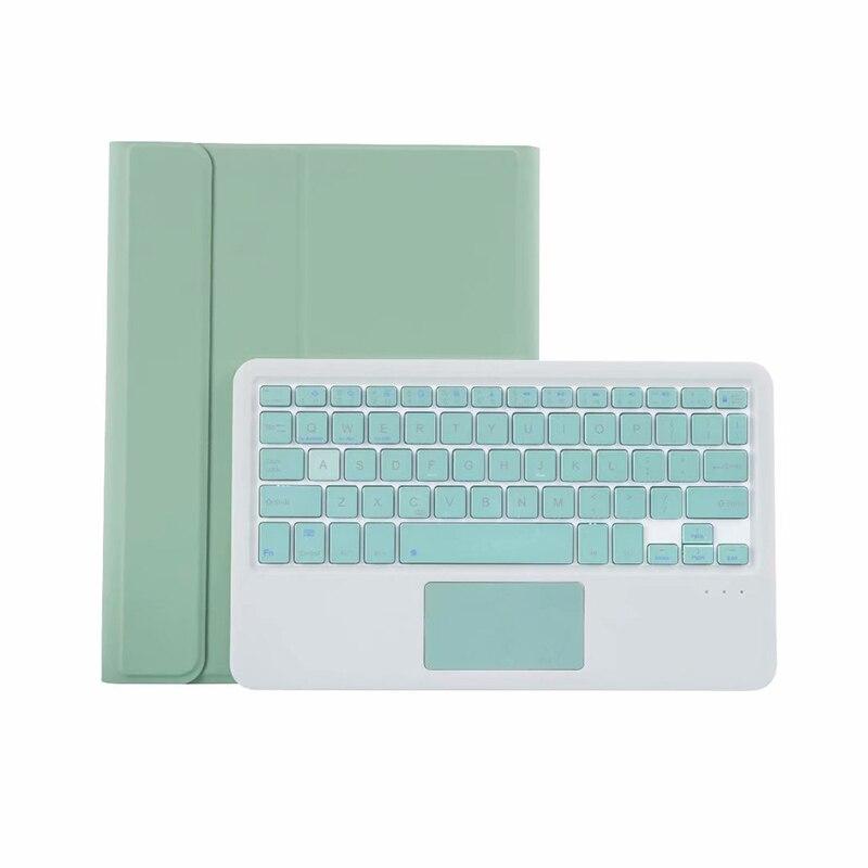 11 pano couro teclado à prova dwaterproof água caso