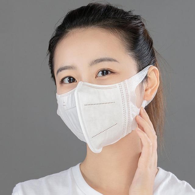 【10pcs/Bag】NAFY 3D Disposable face mask protective mask 3 layer Mouth Masks Anti-fog filter mask 1