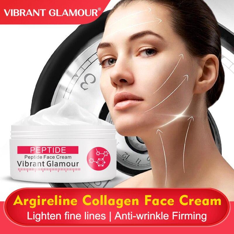 VIBRANT GLAMOUR Argireline Face Cream Anti Aging wrinkle Whitening Moisturizing Collagen Firming skin for women skin care 30g 1