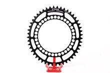 Складная овальная цепь для велосипеда BCD130 40T до 60t, цепь для дорожного велосипеда, колесо, узкий, широкий