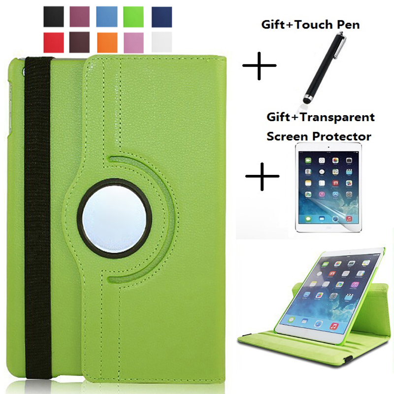 360Degree Rotating <font><b>Leather</b></font> Smart Shell Cover <font><b>Case</b></font> for Apple <font><b>iPad</b></font> <font><b>mini</b></font> 4 <font><b>mini</b></font> <font><b>5</b></font> <font><b>2019</b></font> 7.9 mini4 mini5 A1538 A1550 Coque Funda image