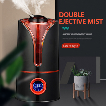 3.5L Large Capacity Timer Air Humidifier Home Dual Spray Intelligent Mute Aroma Humidifier Atomizer Ultrasonic Aroma Diffuser free shipping parts new air humidifier domestic large capacity humidifier humidification mute office mini aromatherapy timing
