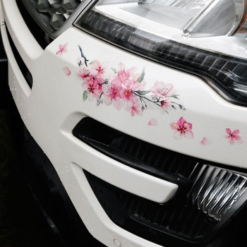 Cherry Blossom Floral Car Stickers  1