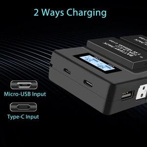 Image 4 - PALO LP E17 LP E17 LPE17 LCD USB Double Chargeur pour appareil photo Canon EOS 200D M3 M6 750D 760D T6i T6s 800D 8000D Baiser X8i Caméras