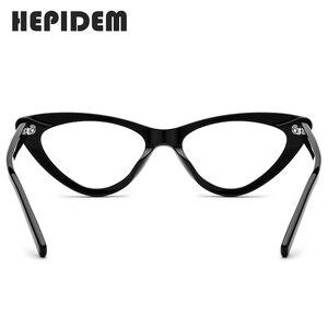 Image 5 - Acetat Optische Gläser Rahmen Frauen Marke Designer Cat Eye Brillen Neue Fors Damen Cateye Spektakel Brillen