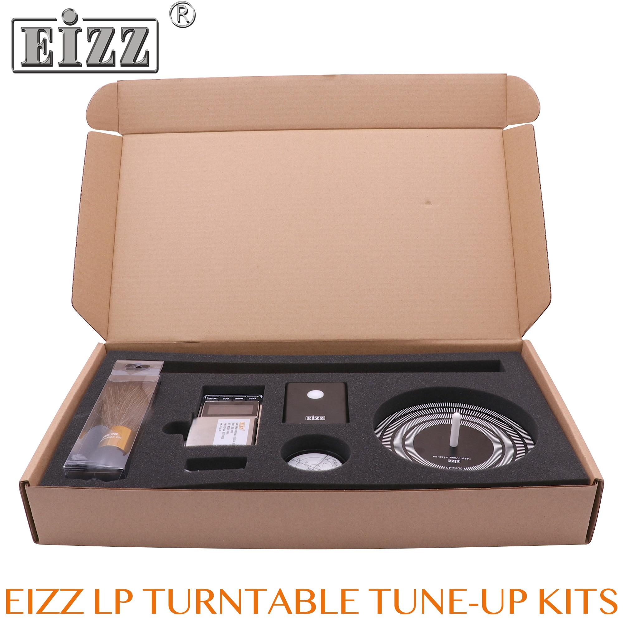 EIZZ LP Kits de platine réglés lecteur de disque vinyle mise au point de Kits d'outils de bricolage détecteur de vitesse