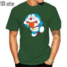 Maglietta da uomo manica corta Doraemon Freak Doraemon T Shirt One neck t-shirt da donna 9466A