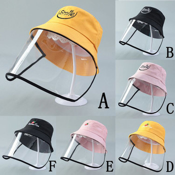 Windproof Fisherman Hat Cover Safe Head Face Cover Protective Mesh Face Mask For Flu Air Cough Sneeze Breathable #YJ