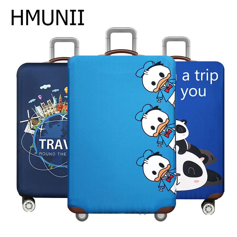 HMUNII Animal Elastic Luggage Cover,Suitcase Case Covers,Travel Accessories For 18-32 Inch Baggage,Trolley Trunk Dust Protector