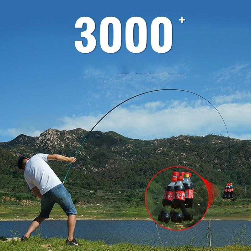 Vara de pesca de carbono 3.6 m-7.2