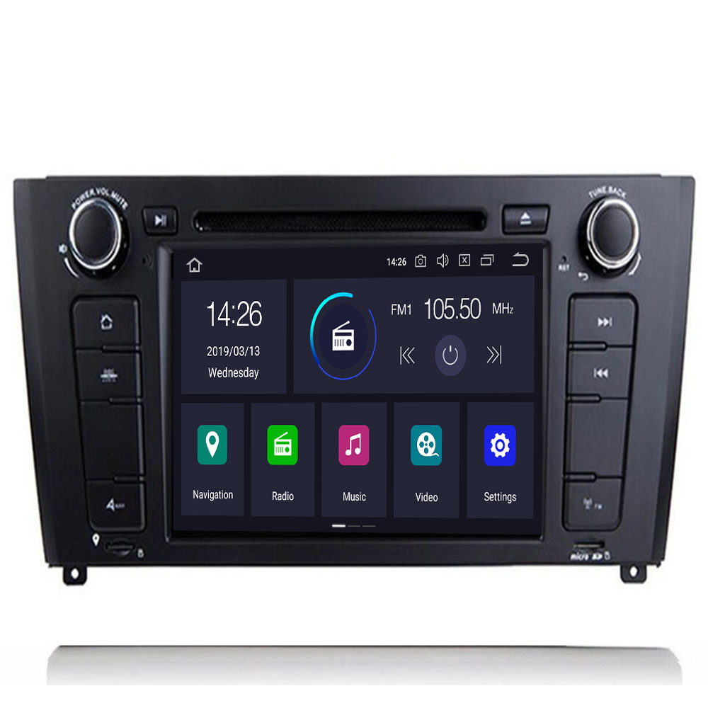AutoRadio 2 Din <font><b>Android</b></font> <font><b>9.0</b></font> Car DVD Player For <font><b>BMW</b></font> <font><b>E87</b></font> 1 Series E88 E82 E81 I20 D Navigation Multimedia GPS Wifi Bluetooth Audio image