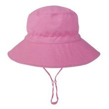 Fisherman Hat Breathable Summer Bucket-Hat Anti-Uv Girls Baby Kids Children Cartoon Sun-Cap