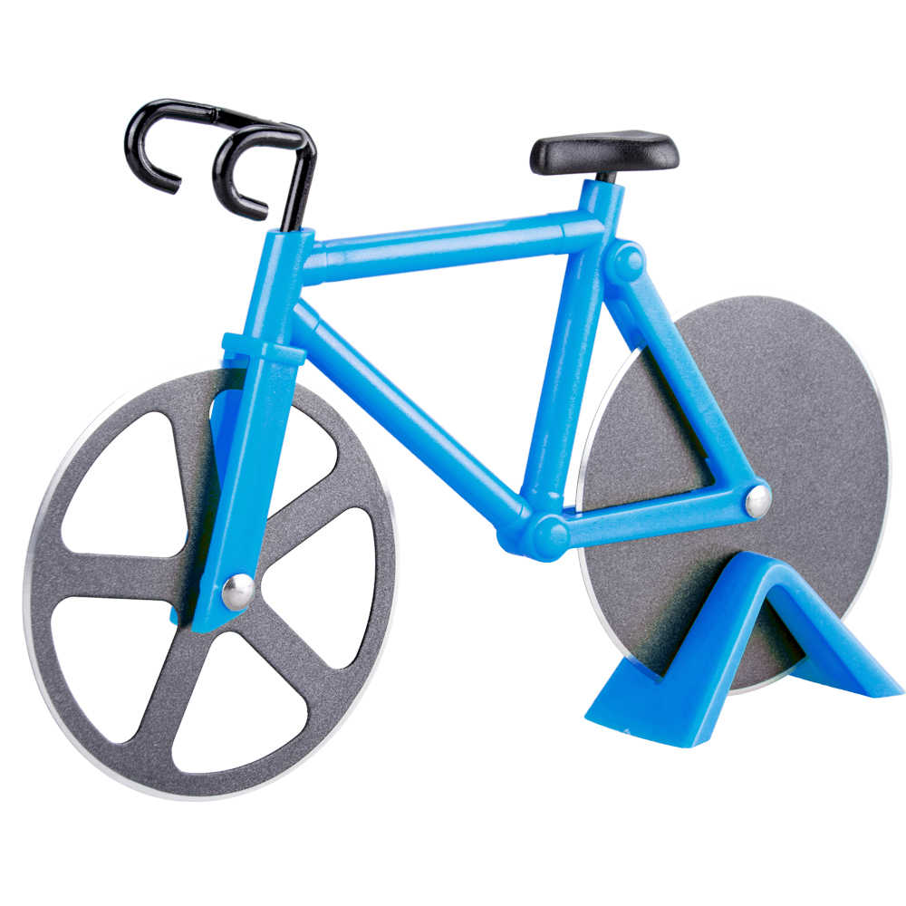 Novelty Pizza Cutter Motorcycle Modle Shaped Stainless Steel Gift Kitchen Decor