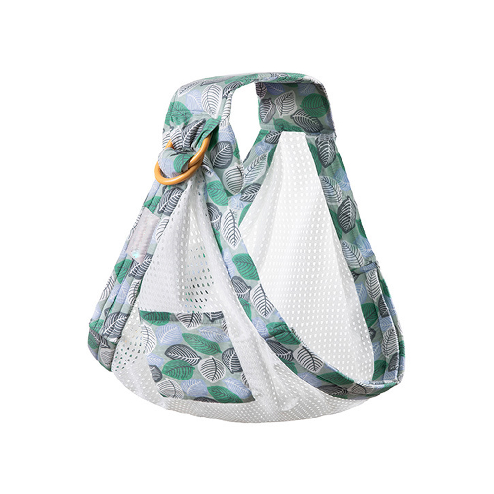 Multifunction Dual Use Nursing Infant Side Shower Gift Breastfeeding Sling Baby Wrap Carrier Adjustable Ring Lightweight Mesh