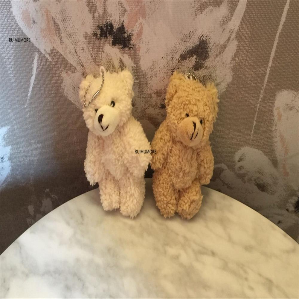 3 размера, милый медведь кукла Мягкие плюшевые игрушки, брелок подарки мягкие и плюшевые животные плюшевые игрушки