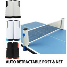 Портативная стойка для настольного тенниса 1 шт складная сетка