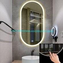 Стекло огни Зеркало сенсорный выключатель специально Дизайн для огней на зеркало электрический прибор сенсорный выключатель