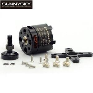 Image 1 - 1pcs 100% Original SUNNYSKY X2212 980KV/1250KV/KV1400/2450KV Brushless Motor (Short shaft )Quad Hexa copter