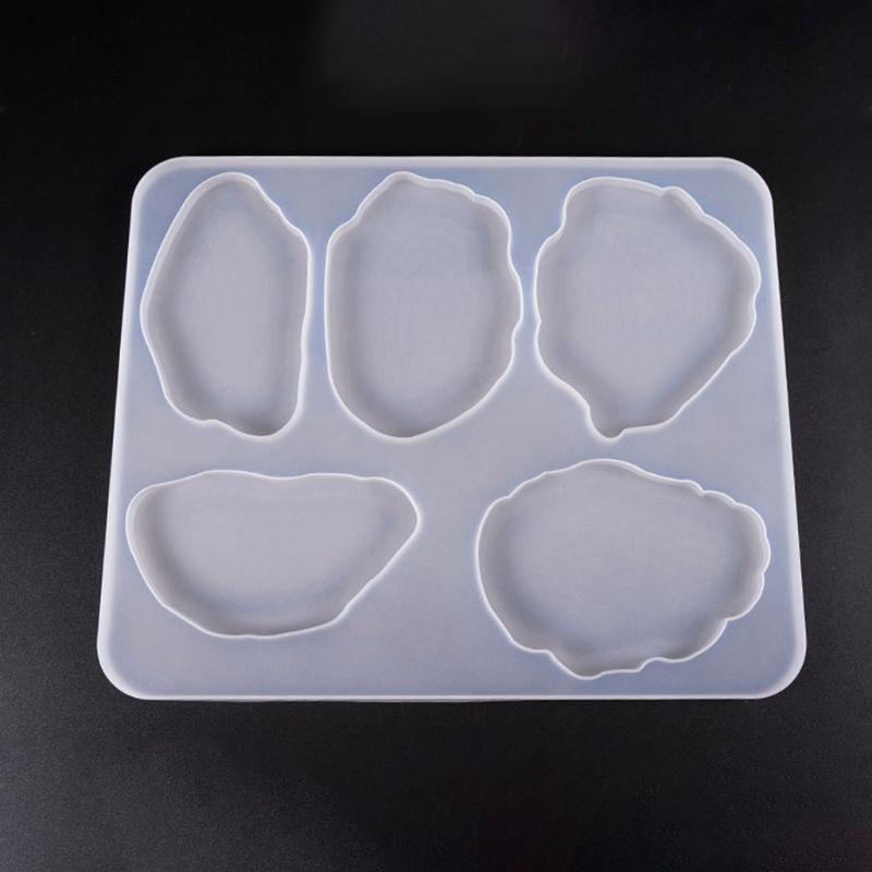 Grande Table décoration moule caboteur ensemble multi-standard tasse tapis Silicone moules bricolage cristal époxy UV colle moule