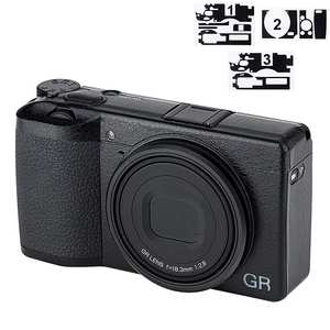 Sticker-Protector Camera-Decoration Anti-Scratch Ricoh Gr Protective-Film for Iii-Ii