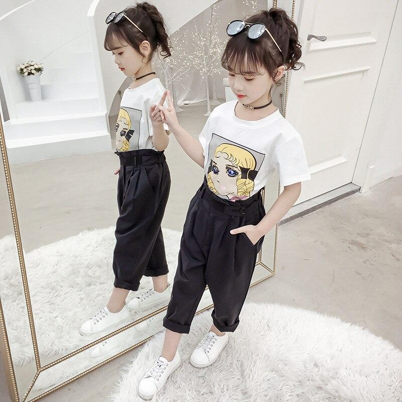 criancas menina calcas da crianca do verao 01