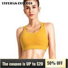 Спортивный бюстгальтер для женщин топ спортзала и йоги укороченные