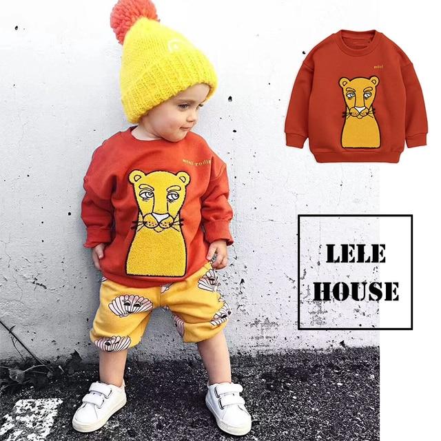 Spot MR TAO Spot MR 2019  Autumn Toddler BOY Shirts Toddler Girls Tshirt Fashion Animal Baby Boy Clothes Kids Clotning Girl Tops