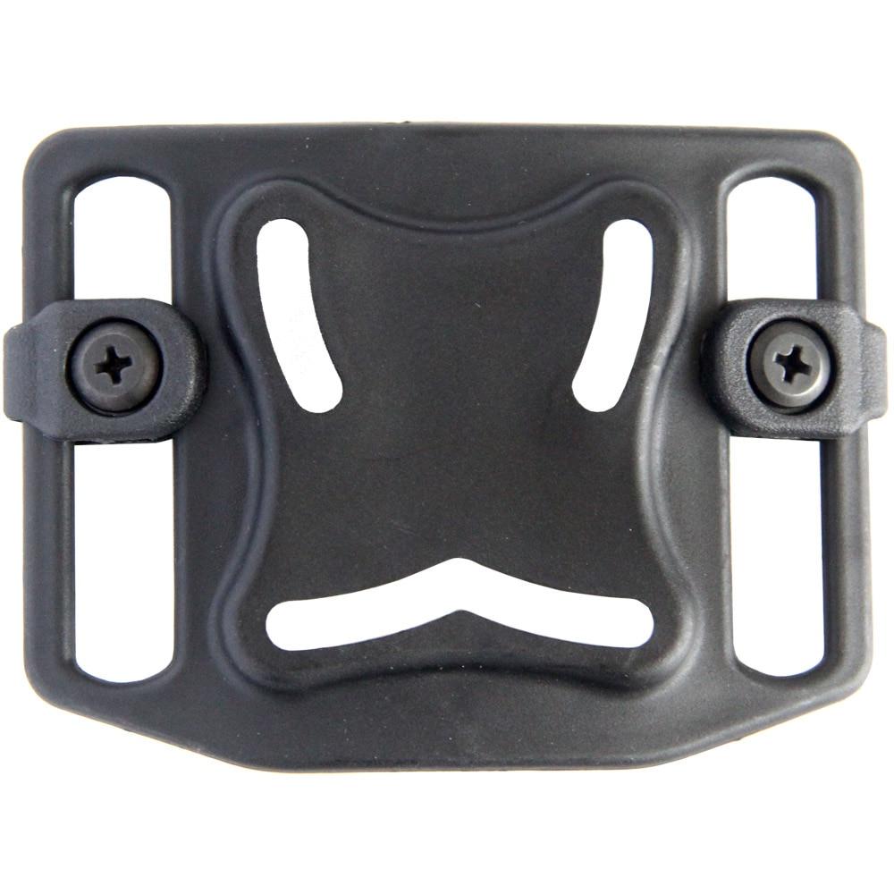 Tactical Pull Sleeve Lumbar Plate Universal Wear Waist Three-hole Holster Accessories
