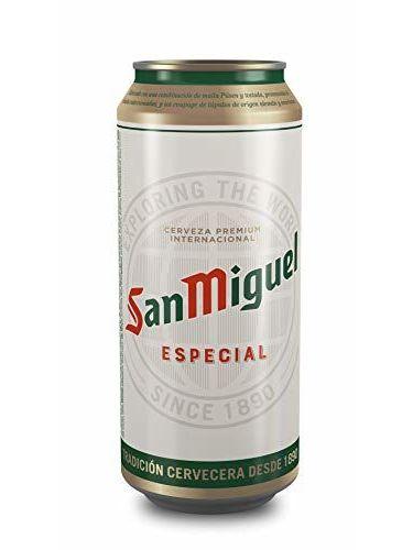 San Miguel Especial Cerveza Dorada Lager, 5.4% Volumen De Alcohol - Lata De 50 Cl