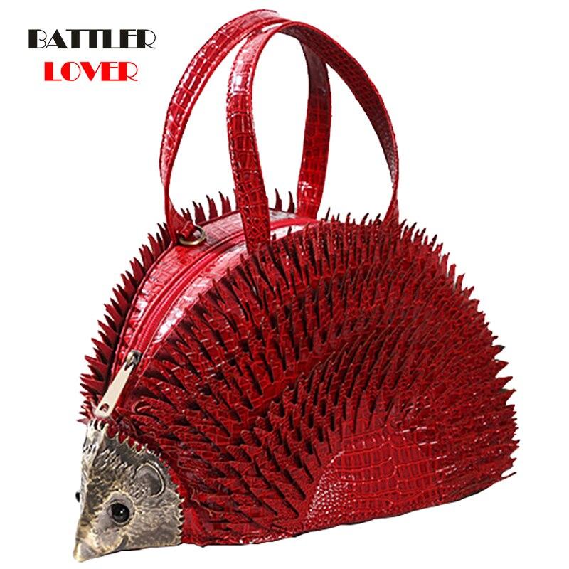 Hedgehog Shaped Bags for Women 2019 Bags Women Handbag Bolsa Feminina Shoulder Messenger Bag Luxury Design Womens Crossbody Bag