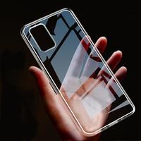 Funda ultrafina de TPU suave para Samsung S21, carcasa transparente para Galaxy S20, S10 Lite, A21S, A51, A71, A50, A70, S9, S8 Plus, Note 20, 10, 8, 9