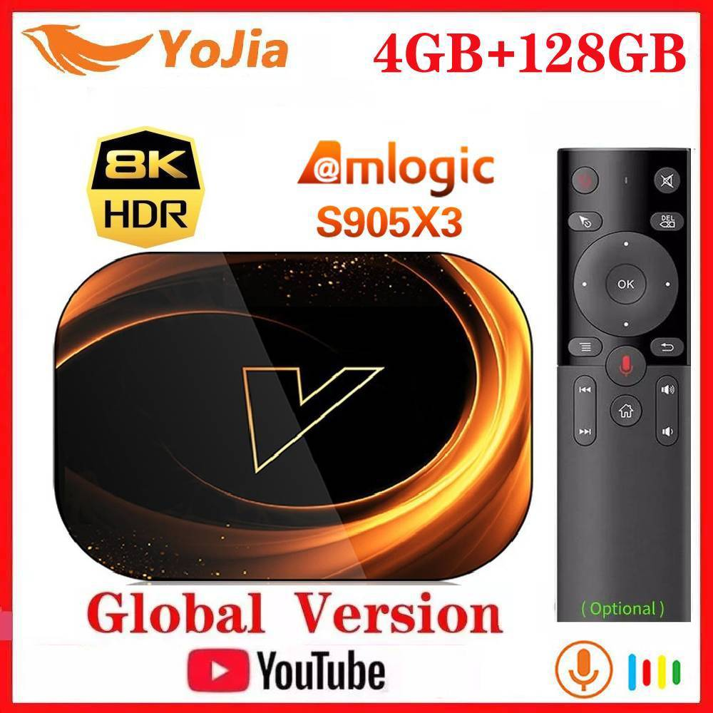 2020 NEW X3 Smart 8K TV Box Android 9 0 Amlogic S905X3 Max 4GB RAM 128GB ROM 64GB 1000M Dual Wifi Youtube Media Player